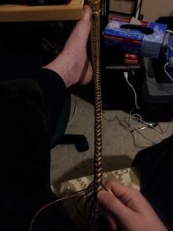 "Shown ~2'8"" of herringbone braid"